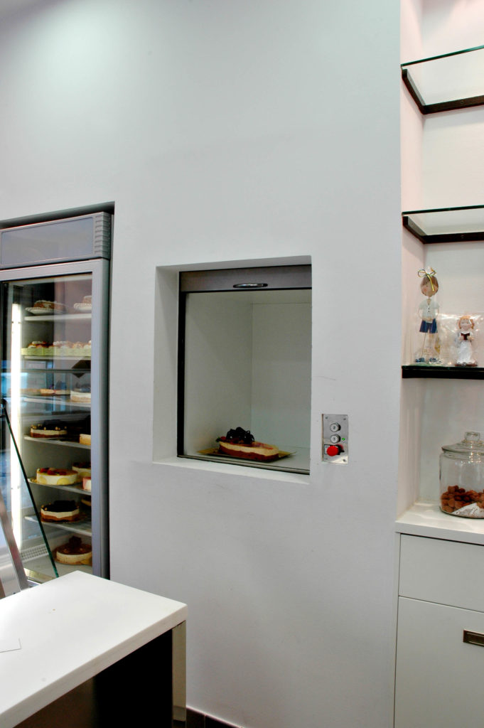 Monte charge non accompagné - Passe plat monte charge boulangerie & restaurant- FIM'PRO
